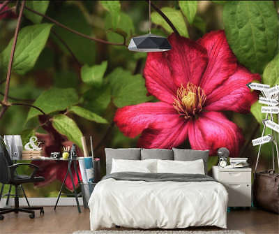 Concise Green Lotus 3D Full Wall Mural Photo Wallpaper Printing Home Kids Decor