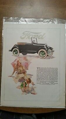 Ford sales ad