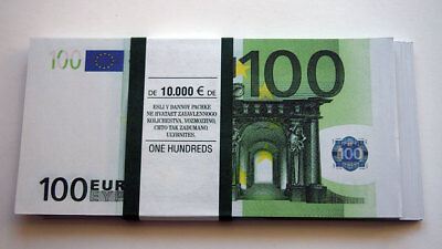 100 Euro 80pcs Paper Money FOR GAME
