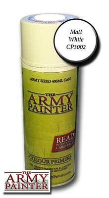 The Army Painter: Base Primer - Matt White Spray (Grundierungsspray weiß)