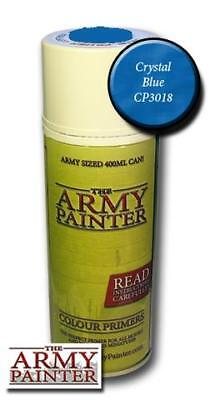 The Army Painter: Primer - Crystal Blue (Grundierung Kristallblau)