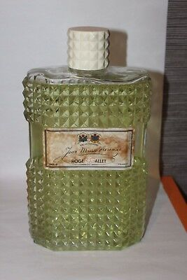 (B) Grand factice eau de cologne Jean Marie Farina Roger Gallet (french perfume)