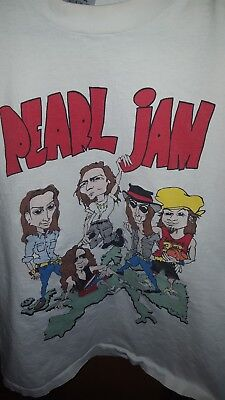 vintage pearl jam shirt grunge nirvana 90s soungarden alice in chains distressed