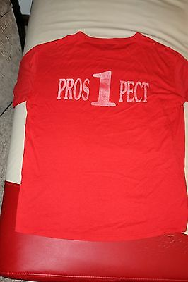 Unisex Men & Womens Collectible Double sided T-shirt Prospect Fire Dept -Sz Med