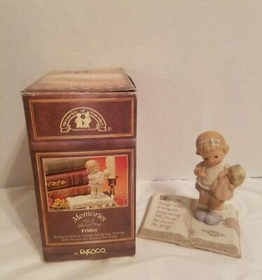 """ Friday  Child"" Enesco Memories of Yesterday Special Day LTD. ED. #531391"