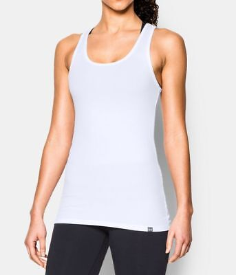 7170c17c45e76 Under Armour Women s UA Fitted Tech Victory Tank Vest - S (10) - White