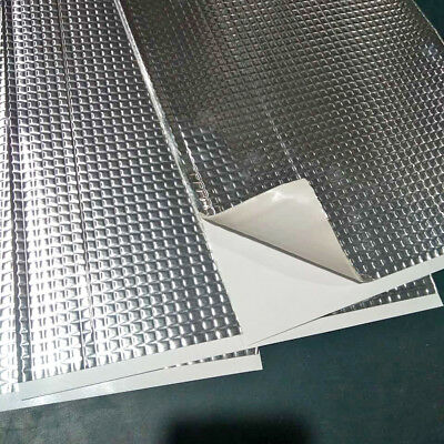 30 Sheets Pack Car Van Deadening Sound Proofing Damping Mat 2mm 187 x 265 mm