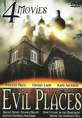Evil Places( 4 Films On 2 Disc Set) Brentwood/ Bci Eclipse Release (Dvd)