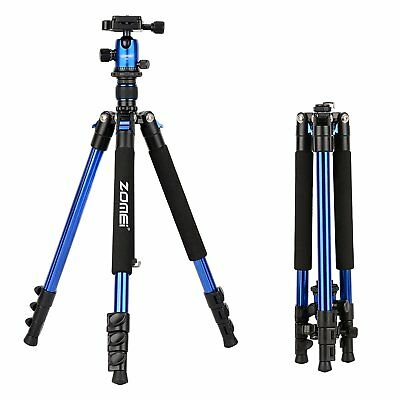 ZOMEI Q555 Portable Professional Tripod&Ball Head Travel stand for DSLR Camera