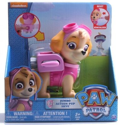 Paw Patrol Jumbo Action Pup Toy, Skye. Free Delivery