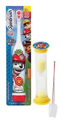 """Paw Patrol """"Let's Fire It Up"""" Marshall Inspired 2pc Oral Hygiene Set! Includes"""