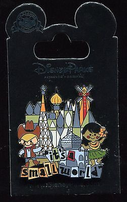 It's A Small World Attraction Logo Disney Pin 107461