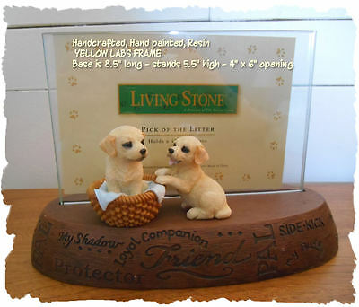New Labrador Retriever Puppy Picture Frame