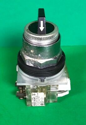 Square D Selector Switch Class 9001 KA-1 , Series G, Pilot Duty AC DC 120-600V