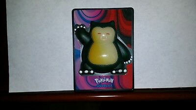 2000 NINTENDO BURGER KING VINTAGE TOY kids POKEMAN SNORLAX