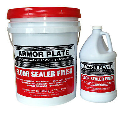 Armor Plate Floor Sealer Finish with new SPT Technology 5 Gallon (19 Litres)