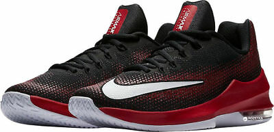 NIKE AIR MAX Infuriate Low Men's Basketball Shoes Black Gym