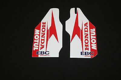 Honda Crf- Crfx Lower  Fork  Guard Mx Graphics Decals Stickers