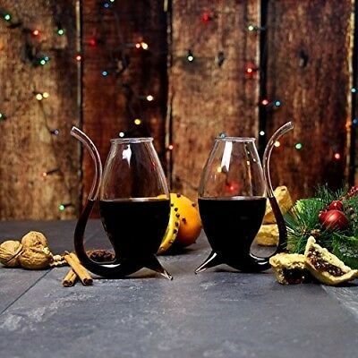 Giant Wine/Port Sippers 300ml - Set of 2 - Gift Boxed Vampire Style Port