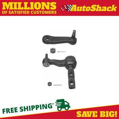 Pair of Front 1 Idler & 1 Pitman Arm for Ford Expedition F-150 Lincoln Navigator