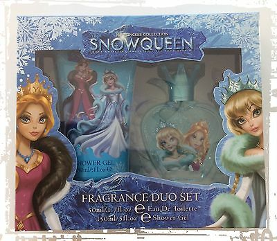 NEU Parfum Anna&Elsa Eiskönigin  Eau de Toilette Spray 50 ml+150ml Shower Gel