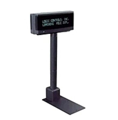 Logic LD9900UP-GY20 Pole Display - 9.5 mm - Single-sided - 2-line x
