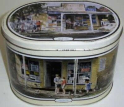 Gordon Hanley Collection', oval, 1 kg. Biscuit Tin