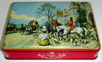 Weston's 'ARRIVAL' (Stage Coach arriving at Inn), rect., 1 lb. 4 oz. Biscuit Tin