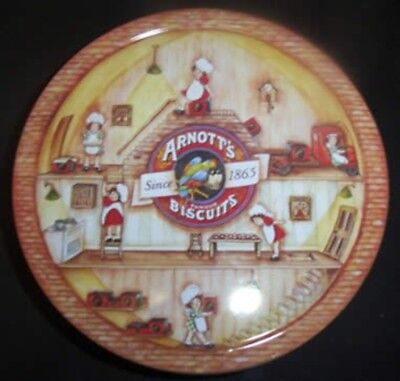 Arnott's 'The Little Baker Lady', round, 450g. Biscuit Tin, c.1995