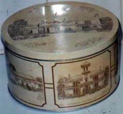 Arnott's 'Colonial Architecture', 900g. Biscuit Tin, c.1982