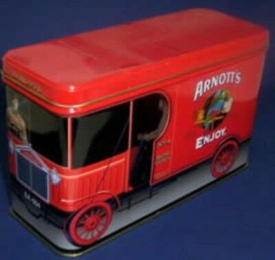 Arnott's 'RED TRUCK' SA:004, 450g. Biscuit Tin, c.1998