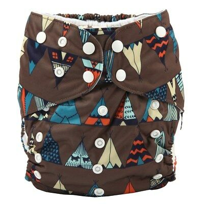 Junior BIG Cloth Diaper Nappy Pocket Reusable Toddler 2 to 7 years old Teepee