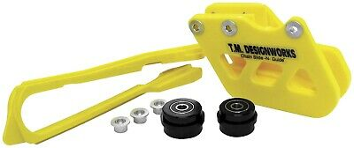T.M Design Works Factory Edition 2 Rear Chain Guides Yellow RCG-SY2-YL