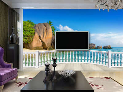 Thick Tall Cliff 3D Full Wall Mural Photo Wallpaper Printing Home Kids Decor