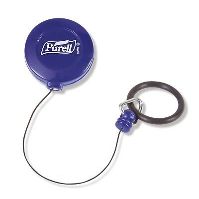 Purell Blue Retractable Personal Clip for the 60ml pump bottle