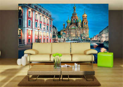 Tender Concise City 3D Full Wall Mural Photo Wallpaper Printing Home Kids Decor