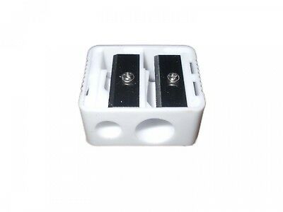 Royal Cosmetic Duo Pencil Sharpener White. Free Delivery