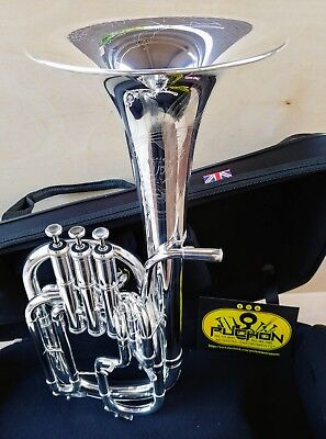 John Packer 272 Silver Engraved Alto Horn- Professional (Bell made in one piece)