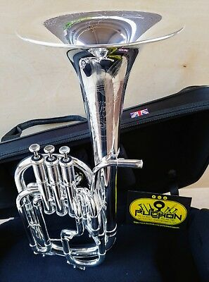 New Edition:John Packer 272 Silver Engraved Alto Horn- Professional