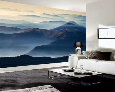 Moist Marginal Hill 3D Full Wall Mural Photo Wallpaper Printing Home Kids Decor