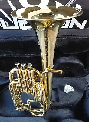 New Edition: John Packer 072 Lacquer + Engraved Eb Alto Horn - Student