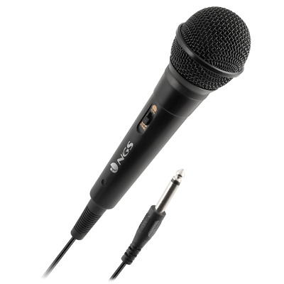 NGS Microphone Singer Fire 3m cable