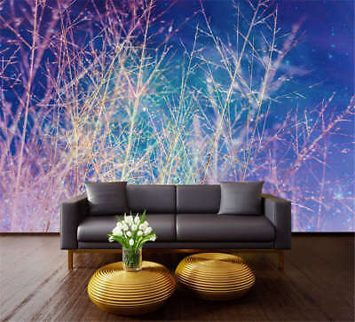 Blazing Concise Tree 3D Full Wall Mural Photo Wallpaper Printing Home Kids Decor