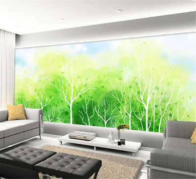 Vital Concise Woods 3D Full Wall Mural Photo Wallpaper Printing Home Kids Decor