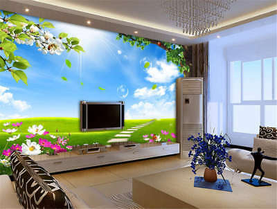 Vast Concise Ground 3D Full Wall Mural Photo Wallpaper Printing Home Kids Decor
