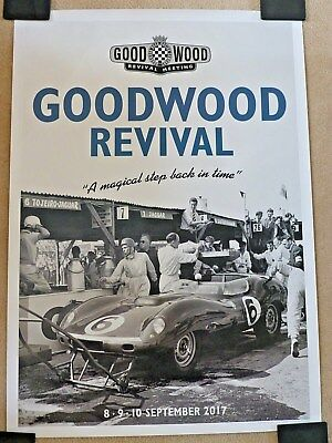 GOODWOOD Revival Poster September 2017  (a magical step back in time)