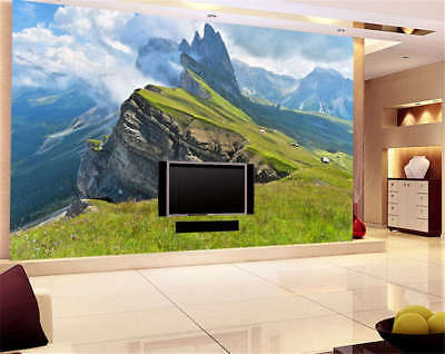 Fairy Concise Hills 3D Full Wall Mural Photo Wallpaper Printing Home Kids Decor