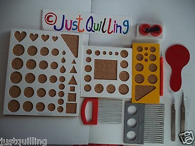 Paper Quilling All tool sets ,slotted tool, Mega tool quilling tools set no2