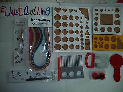 Paper Quilling All tool sets ,slotted tool, Mega tool set two tone set no22