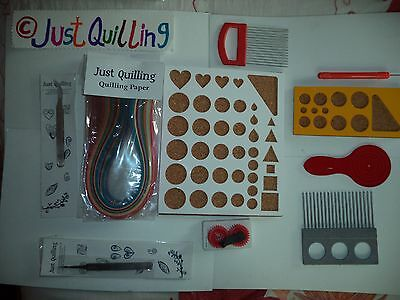 Paper Quilling All tool sets ,slotted tool, Mega tool set two tone set no3